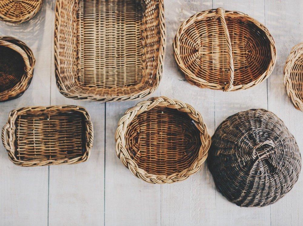 Körbe und Korbwaren für mehr Ordnung und Design